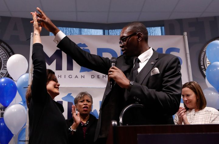 Garlin Gilchrist narrowly lost a race last year for Detroit city clerk. This summer he was tapped as Michigan Democratic gube