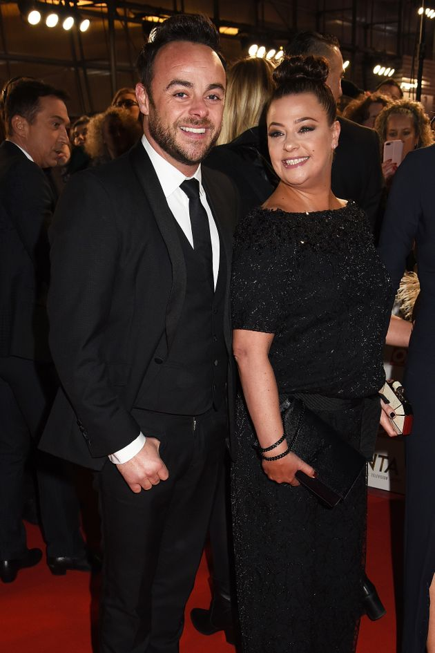 The former couple at last year's National Television