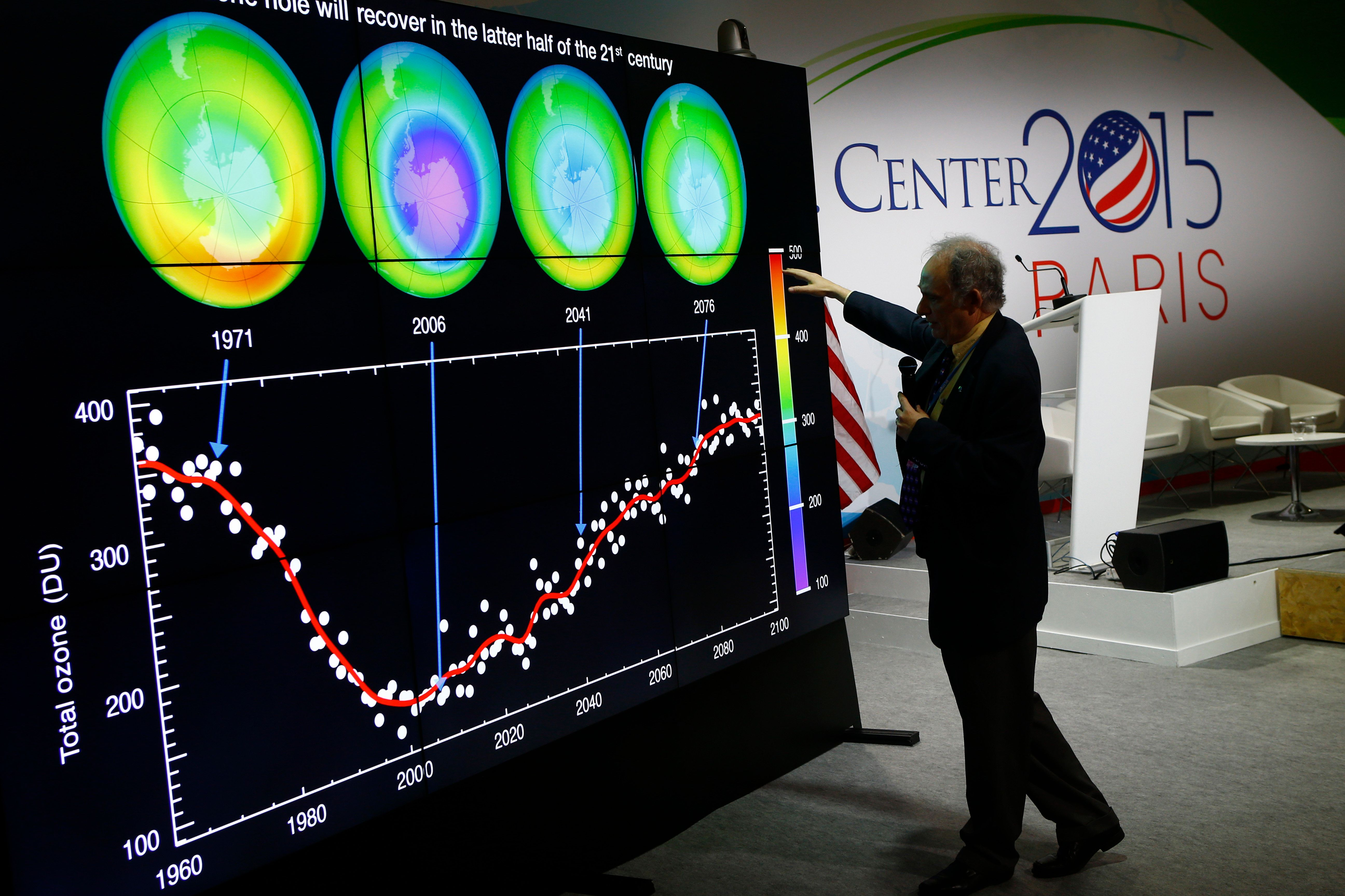 After Decades Of Global Action, The Ozone Layer Is On The Road To