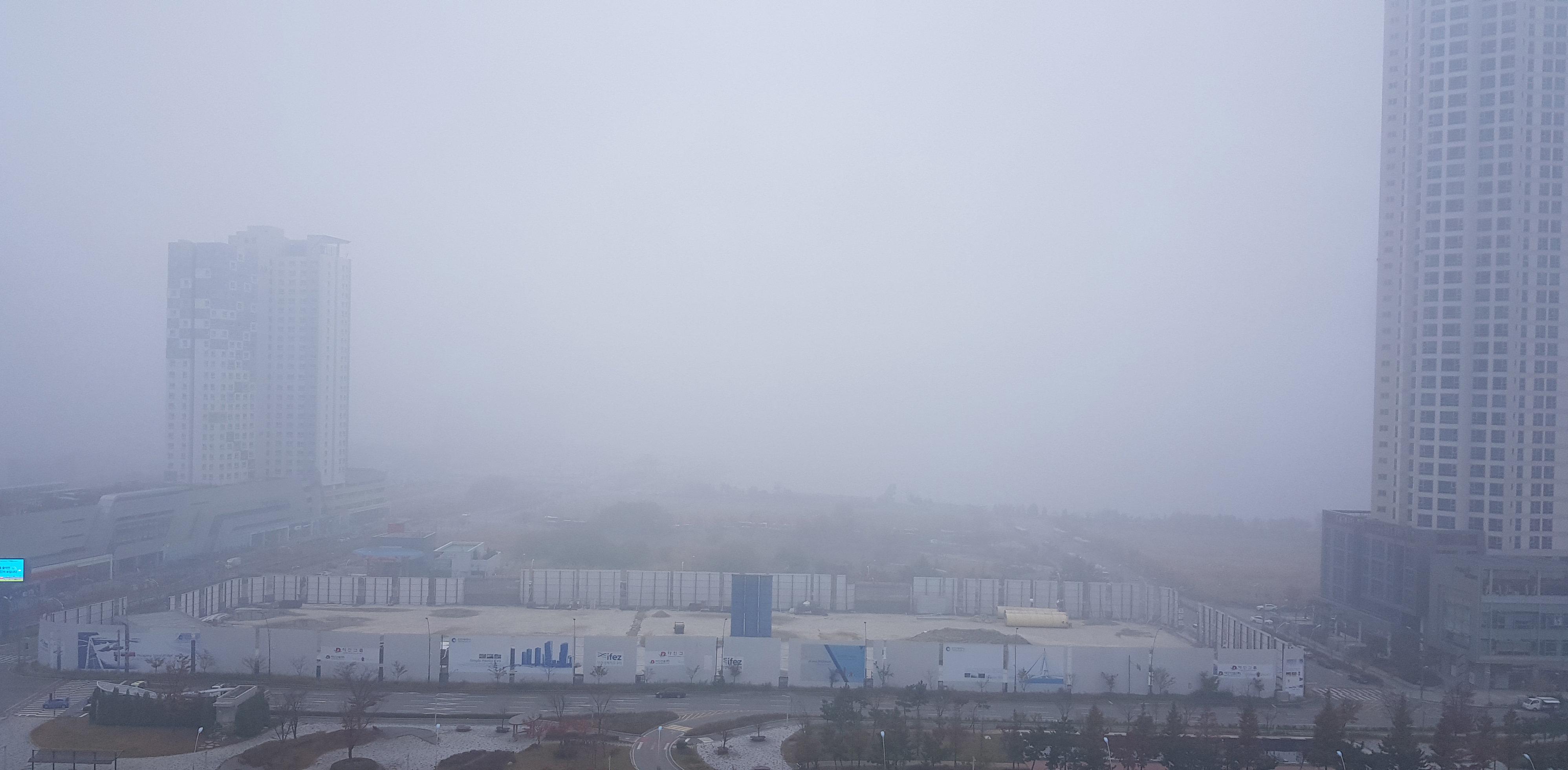내일(7일) 수도권 지역에 미세먼지 비상저감조치가