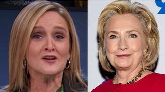 Samantha Bee and Hillary Clinton