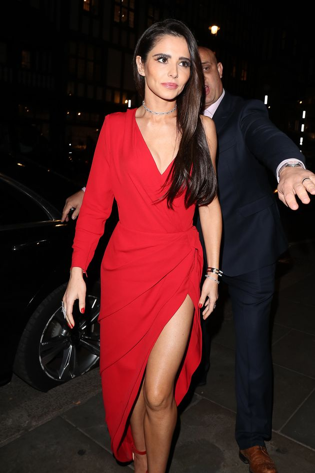 Cheryl at an event last