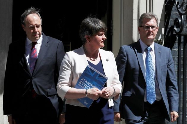 DUP Chief Whip: The UK Is 'Heading For No Deal'