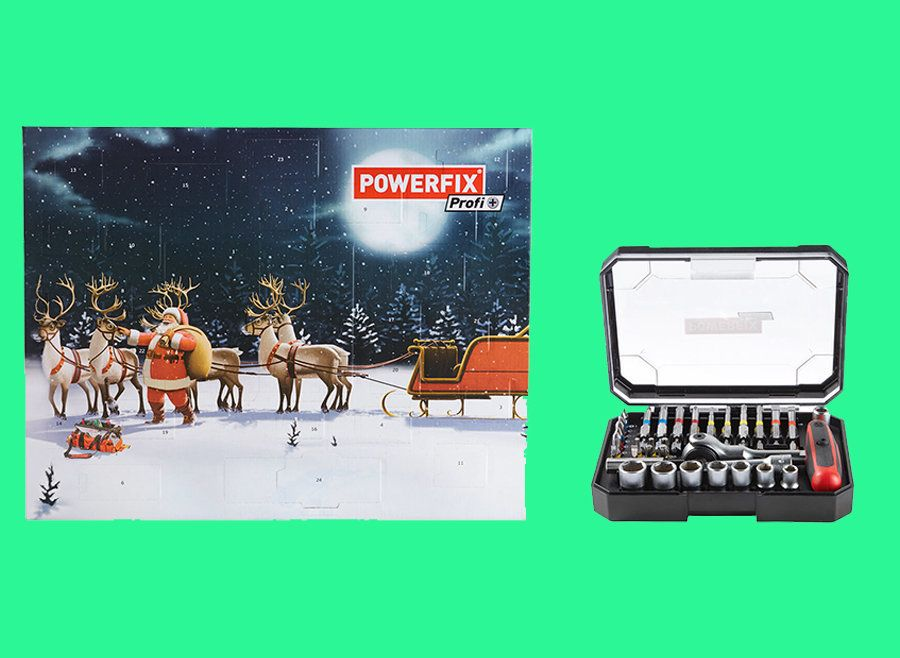 Lidl Launches DIY Tool Kit Advent Calendar, Because Nothing Says Christmas Like A Spare Drill