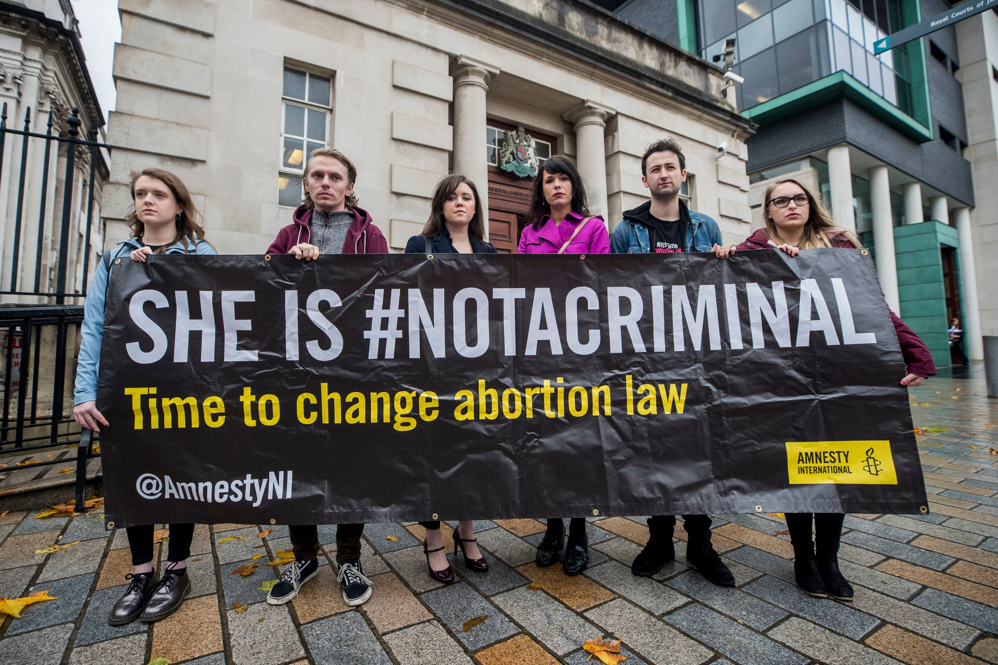 One Woman's Legal Battle Could Become A Landmark Moment For Northern Ireland Abortion