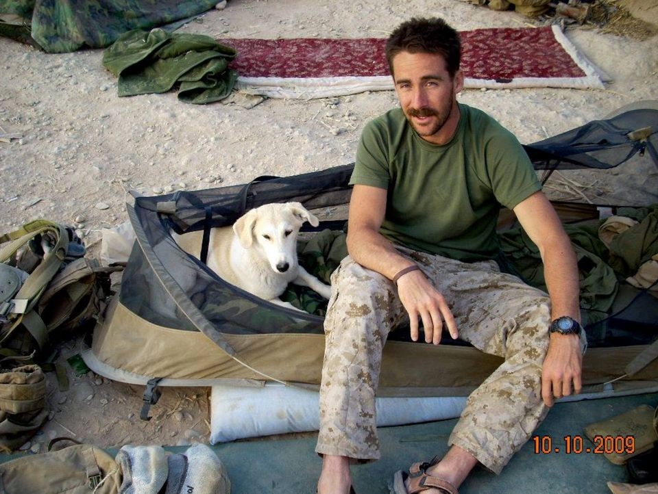 As A Soldier I Saved My Dog From A War Zone. When We Came Home It Was His Turn To Save