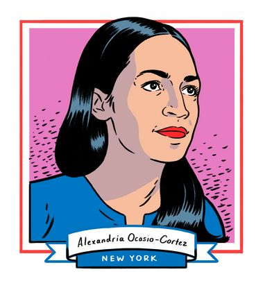 Alexandria Ocasio-Cortez, 29, is the youngest woman ever elected to Congress after winning the seat in New York's 14th...