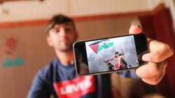 Le militant palestinien dont la photo avec un drapeau a fait le tour du monde a été blessé par l'armée