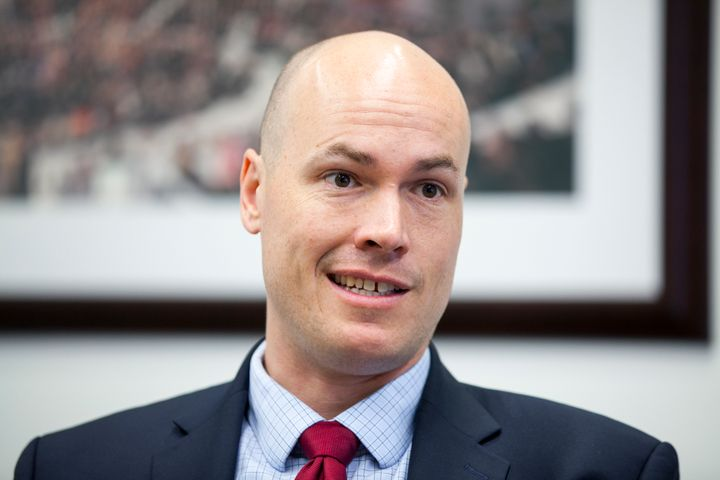 Iowa Democratic candidate J.D. Scholten
