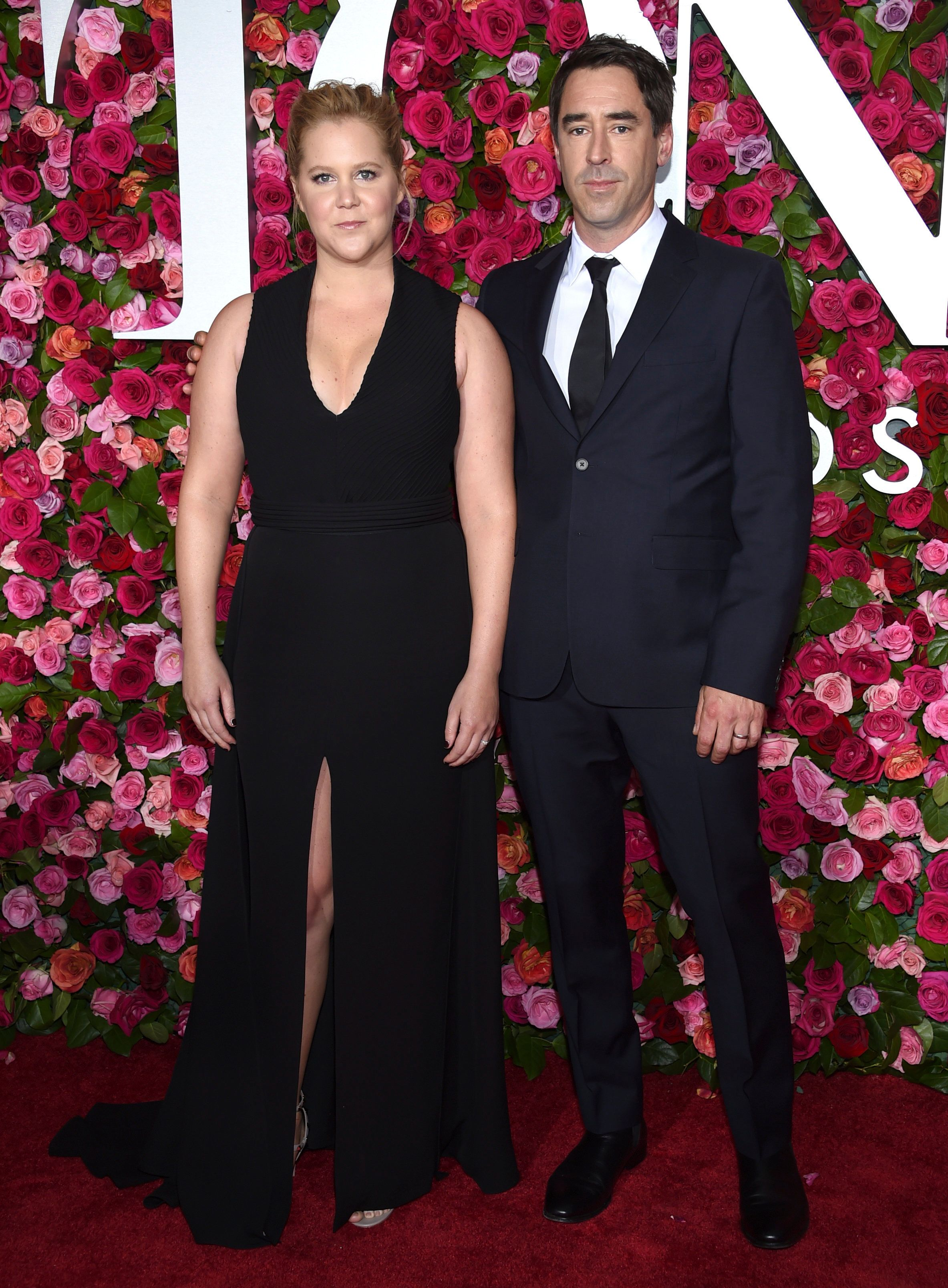 Amy Schumer and Chris Fischer at the 2018 Tony Awards.