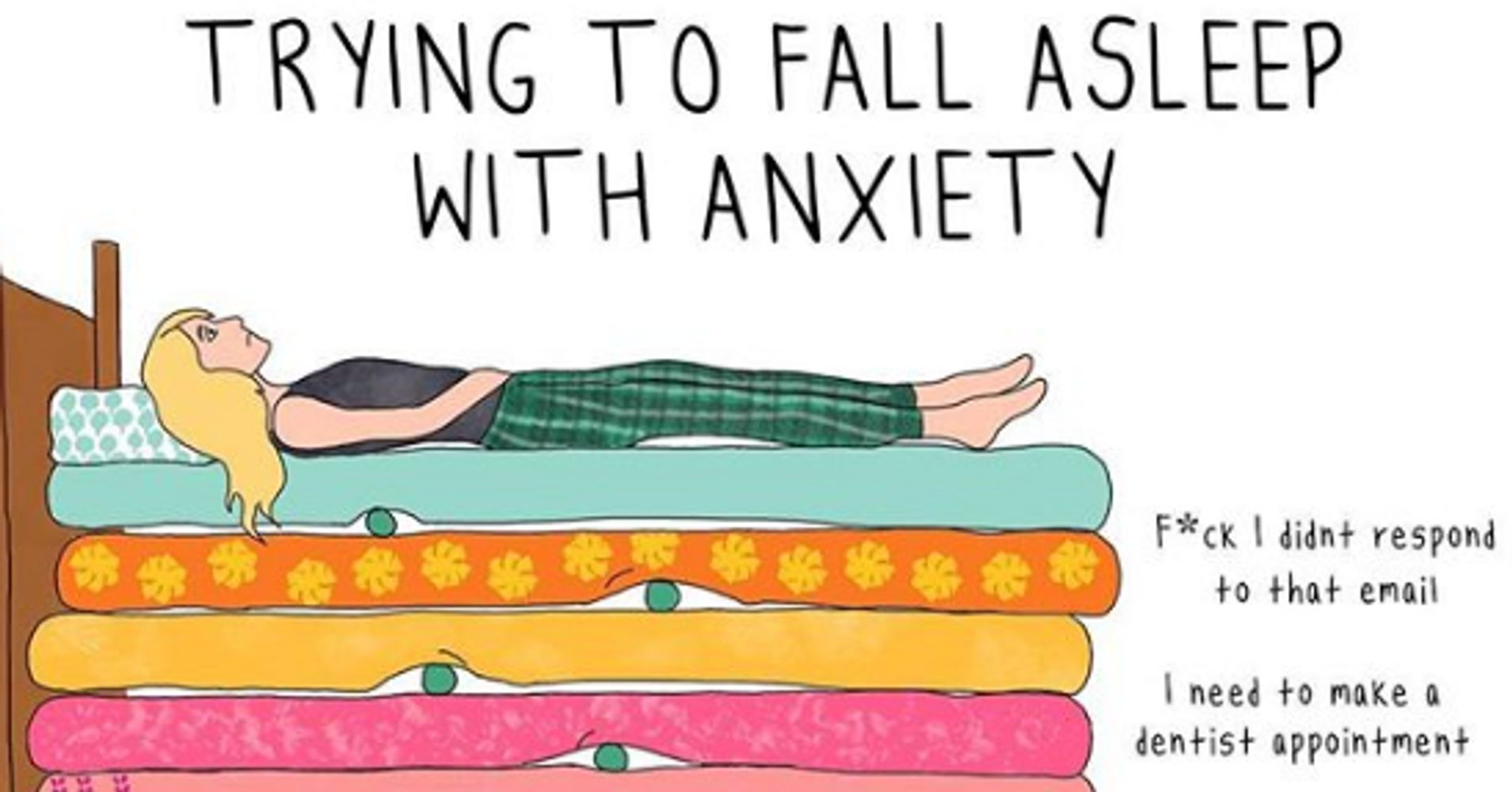 If You Have Anxiety, These Illustrations Will Speak To You On A Deep Level