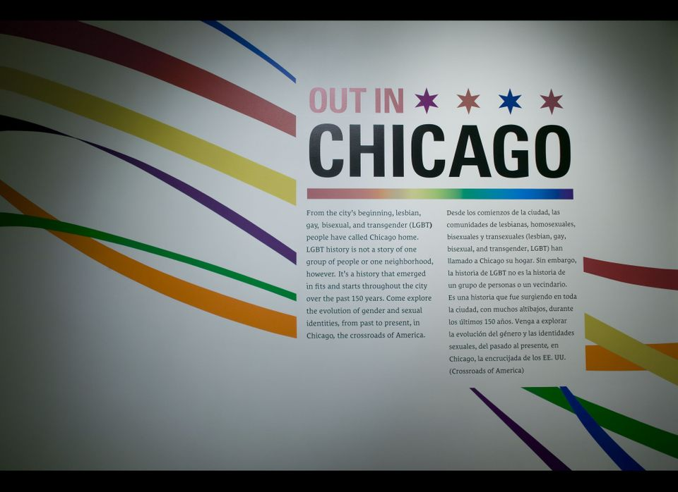 """Out in Chicago"" at the Chicago History Museum."