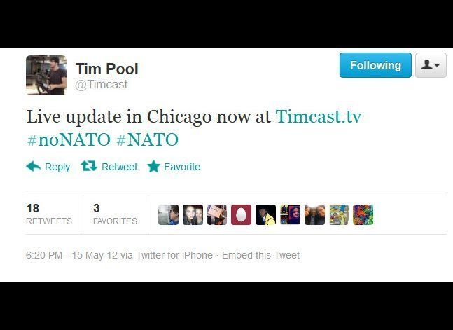 "Independent journalist Tim Pool, best known for his coverage of activist rallys and Occupy events. The recent ""Shoot to Kill"""