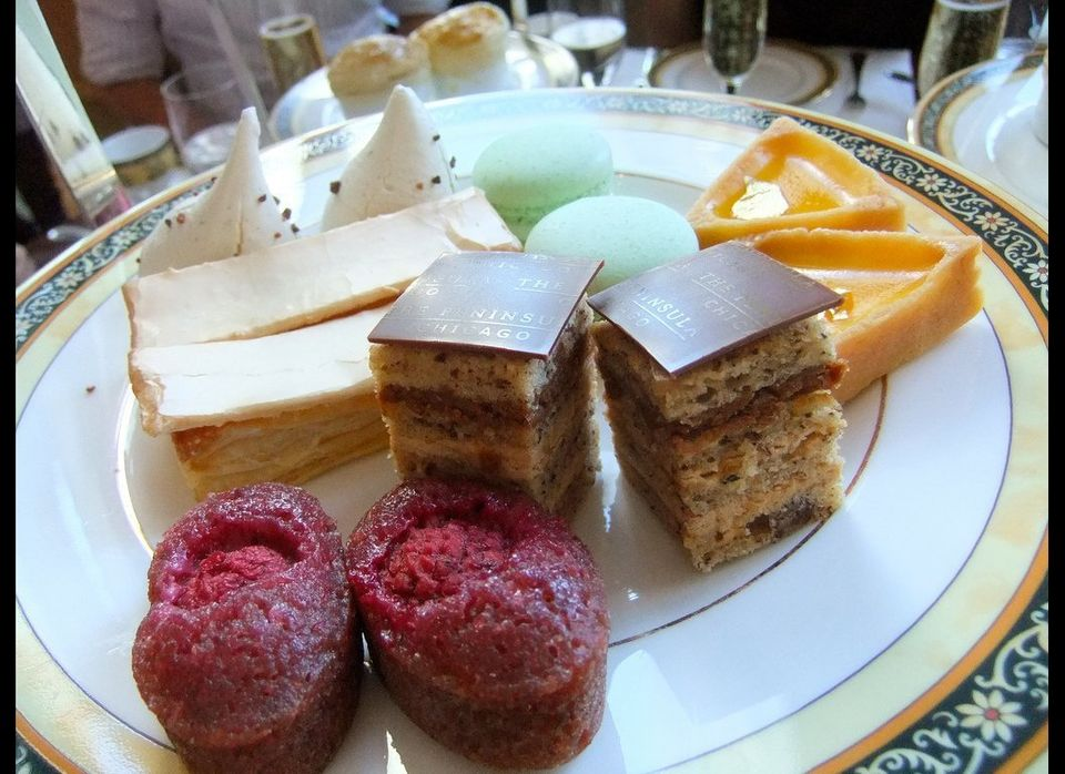 On Facebook, Sarah Florie recommended the Peninsula's French macarons. <br> <em>108 E. Superior St., Chicago</em> <br> Pho