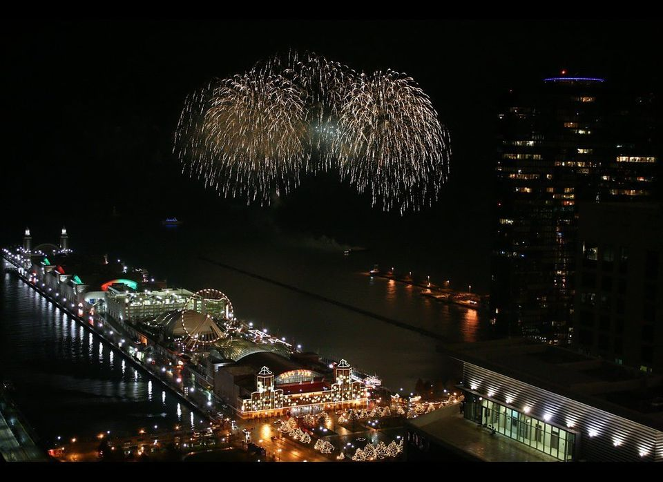 Fireworks begin at 9 p.m. Wednesday. If you don't want to brave the tourists, grab a spot anywhere along the lakefront near t