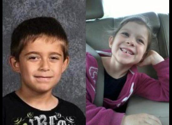 Justin Plackowska, 7, and Olivia Dworakowski, 5, were found stabbed to death in his home in Naperville, Tuesday night, Oct. 3