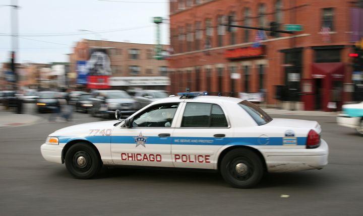 Description Streifenwagen der Polizei in Chicago Chicago police car | Source | Date | Author Daniel Schwen  | Permission See