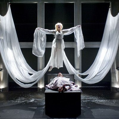 "Staged in full, ""Angels in America"" is truly epic: a seven-hour ""gay fantasia on national themes"" that encompasses the AIDS c"