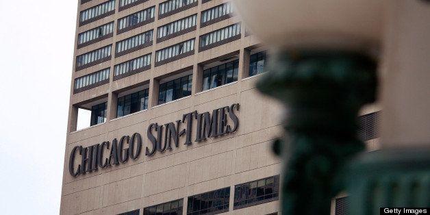 CHICAGO - APRIL 02:  The Chicago Sun Times offices are seen April 2, 2009 in Chicago, Illinois. The Chicago Sun-Times' parent