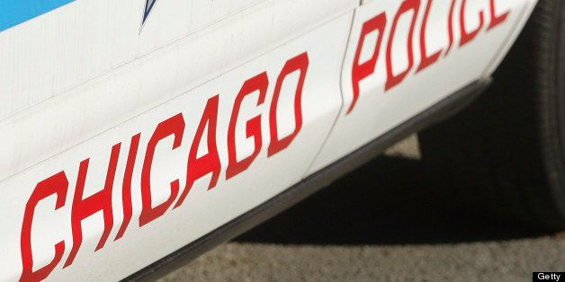 UNITED STATES - NOVEMBER 28:  A police car is parked outside the headquarters of the Chicago Police Department in Chicago, Il