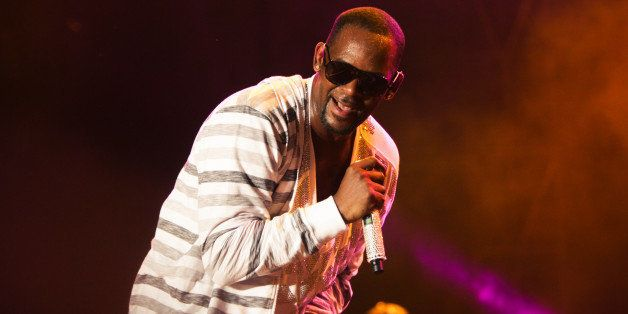 CHICAGO, IL - JULY 21:  R. Kelly performs onstage during the 2013 Pitchfork Music Festival at Union Park on July 21, 2013 in