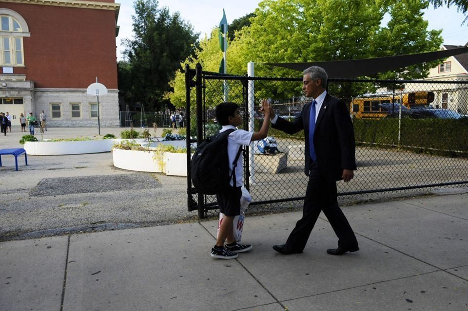 CPS' first day of school on Aug. 26.