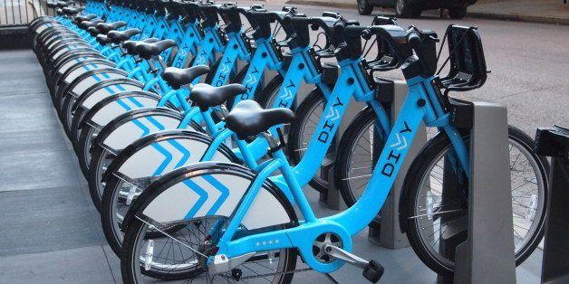 So many station, so many bikes.