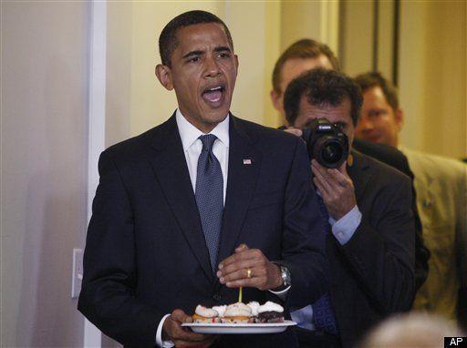 Amazing Obama Birthday Party In Chicago 30 000 Donation To The Dnc Funny Birthday Cards Online Inifodamsfinfo