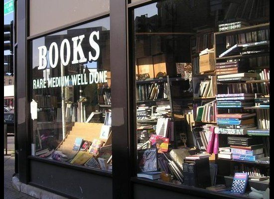 Find lots of good reads for a low price at this cozy, yet cluttered spot.