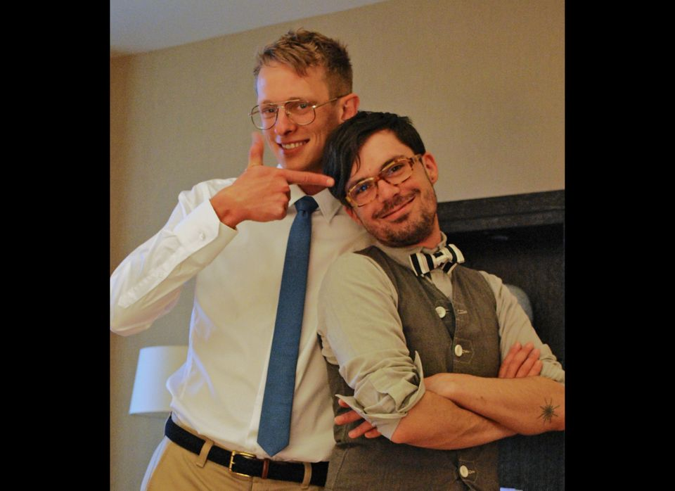 Logan Square residents Seth Dodson, 29, and Viktor van Bramer, 28 met a little over five years ago at Chances Dances, a queer