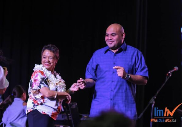 Lou Leon Guerrero is the first woman to be elected governor of Guam.