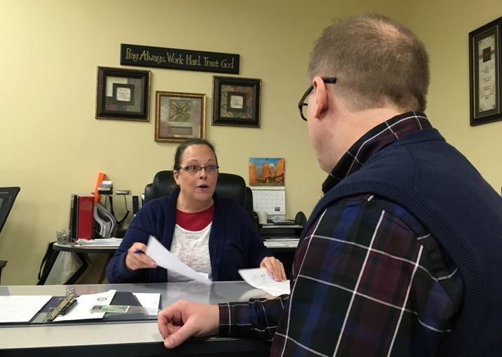 Kim Davis lost her re-election bid for Rowan County clerk in Kentucky on Tuesday to her Democratic challenger.