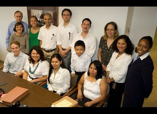 1417 N St NW CO-OP Board, Richard Dunn (development consultant), Farah Fosse and Anna Duncan (LEDC), Lydia OKelly DHCD, Shann