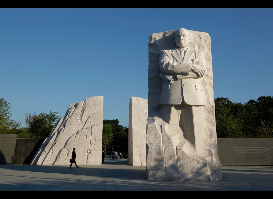 The Martin Luther King Jr. National Memorial as seen on Aug. 22, 2011.