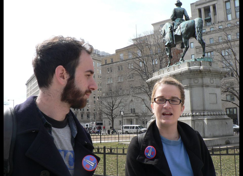 <strong>Sam Jewler:</strong> My parents' house, in D.C.  <strong>Sara Shaw:</strong> I was lucky enough to be able to stay