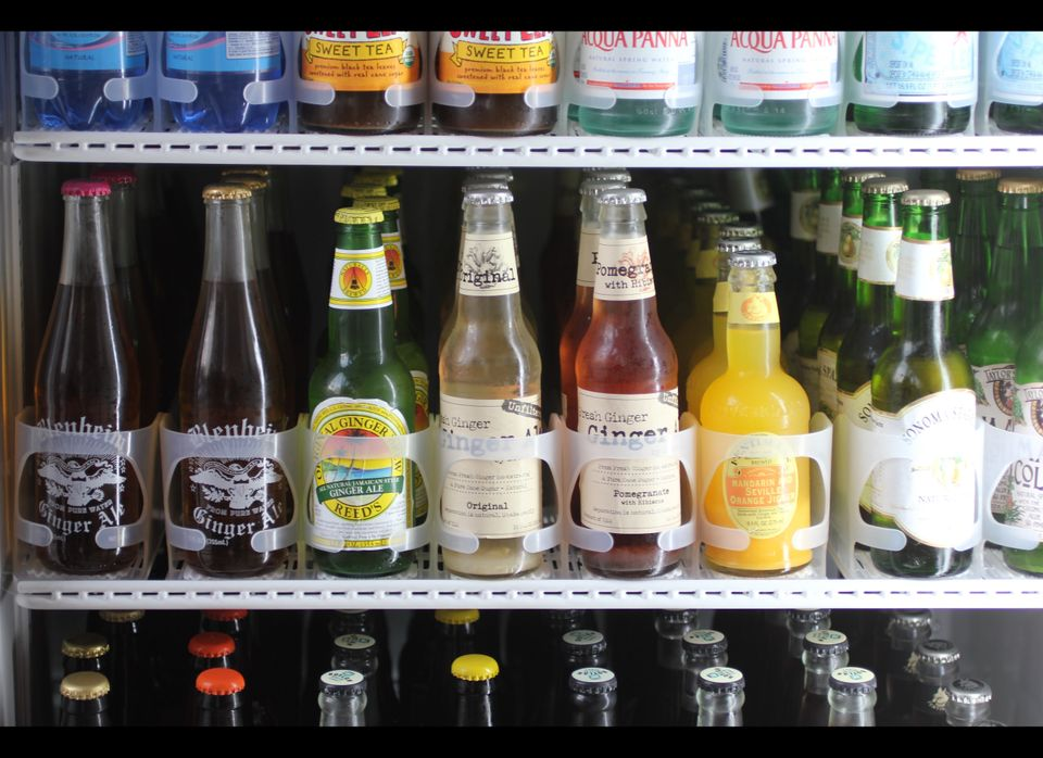 A selection of craft sodas are in the mix.