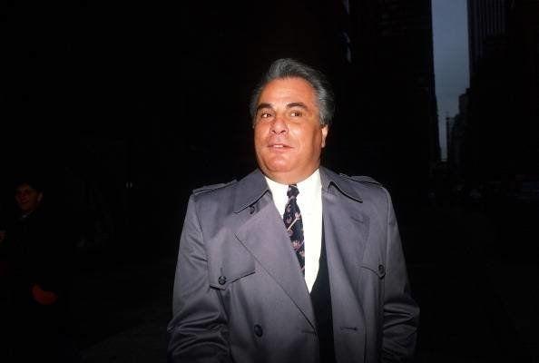 Then Gambino crime family boss John Gotti in New York City on Jan, 20, 1987.