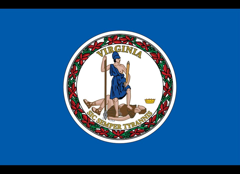 Virginia's state seal features the Roman goddess Virtus, usually with one breast showing. In 2010, Cuccinelli gave out modest
