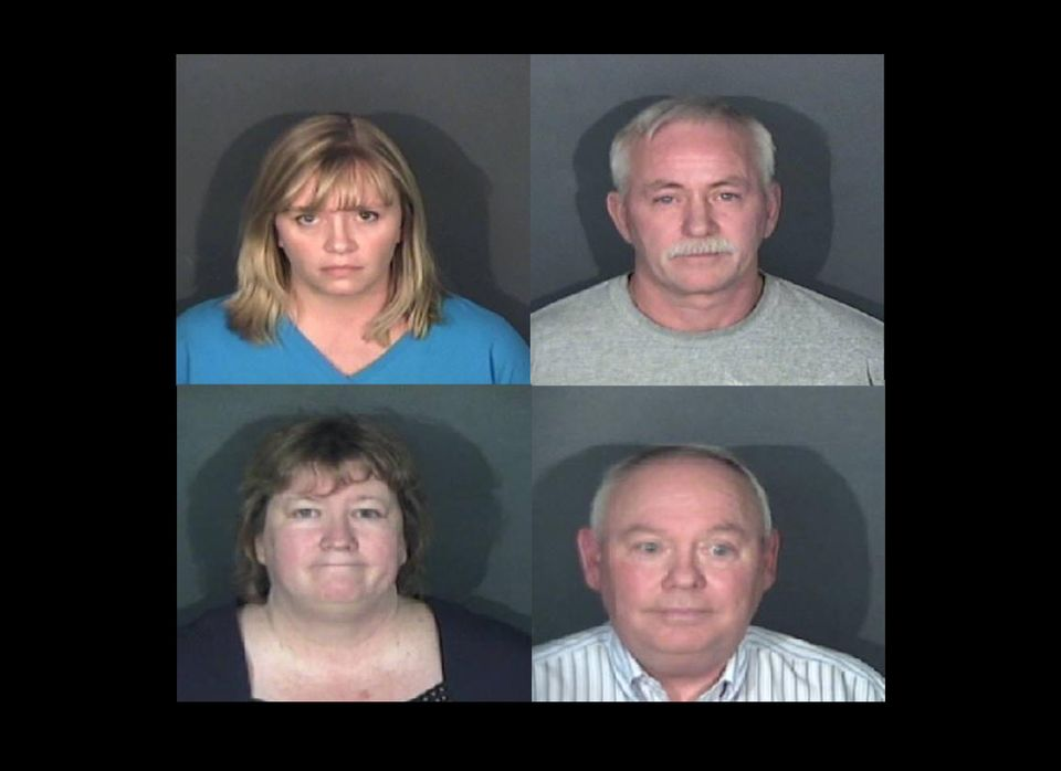 Terah Rawlings (top left), a teacher indicted Nov. 17, 2011 in El Paso for having repeatedly sexually assaulted a 15-year-old