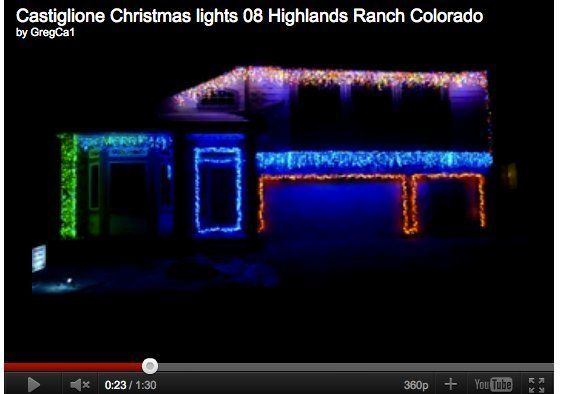 Christmas Lights To Music.Best Christmas Lights Display In Denver Highlands Ranch