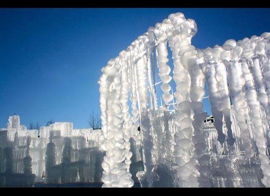 Silverthorne Ice Castle: Brent Christensen's Colo  Ice