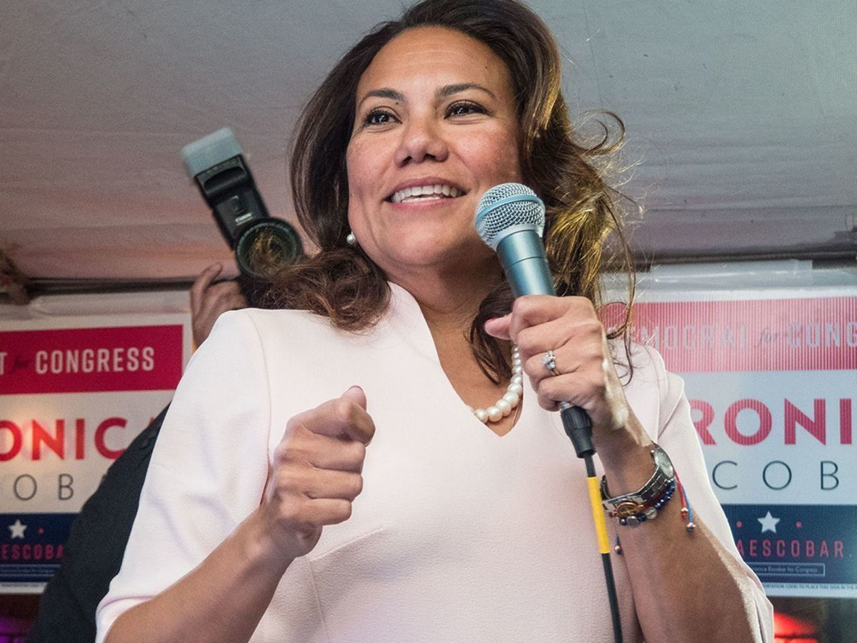 Veronica Escobar will be one of the first Latina congresswomen from Texas.