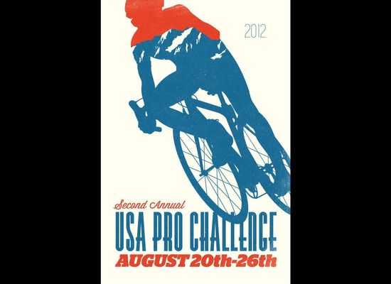 USA Pro Cycling Challenge 2012 Poster Contest Submissions