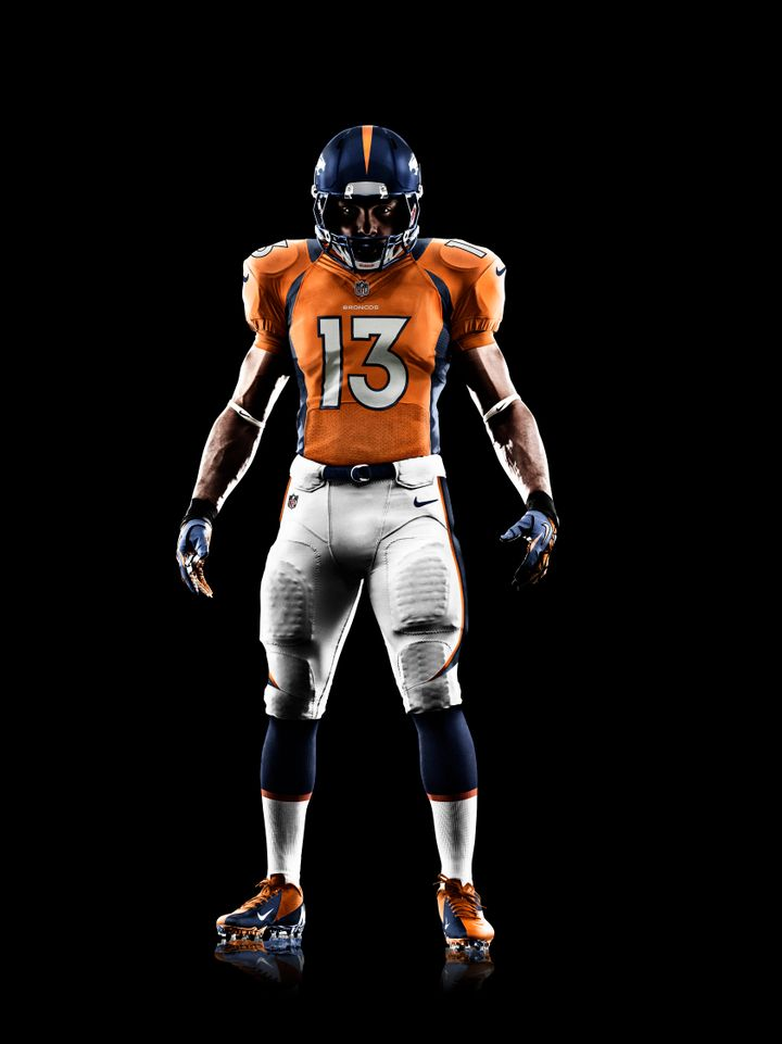 detailing 675eb 8bb66 New Denver Broncos Uniforms: Nike Reveals New NFL Jerseys ...