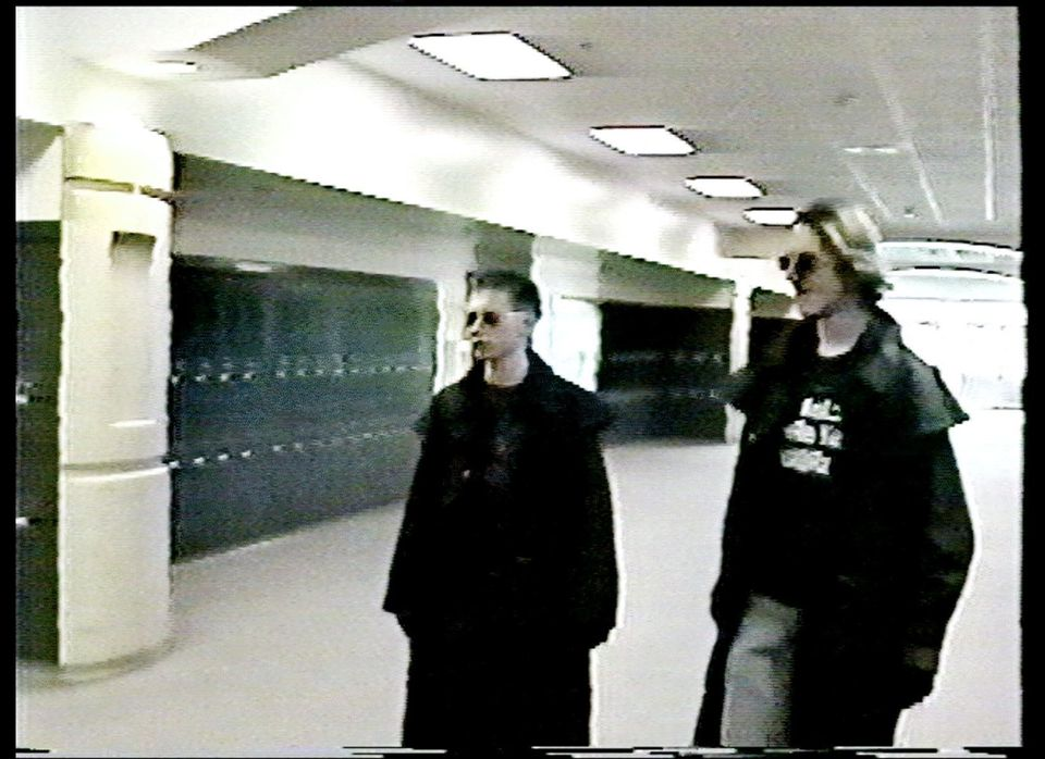 Eric Harris, left, and Dylan Klebold, students involved in the killings at Columbine High School, are shown in this image mad