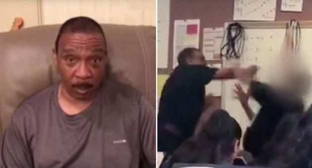 학생과 싸웠다가 구속된 선생을 위해 사람들이 10만 달러를