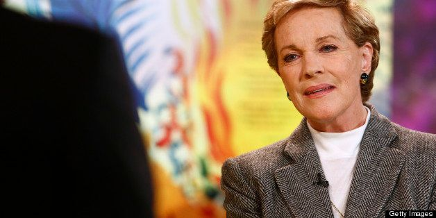 TODAY -- Pictured: Julie Andrews appears on NBC News' 'Today' show -- (Photo by: Peter Kramer/NBC/NBC NewsWire via Getty Imag