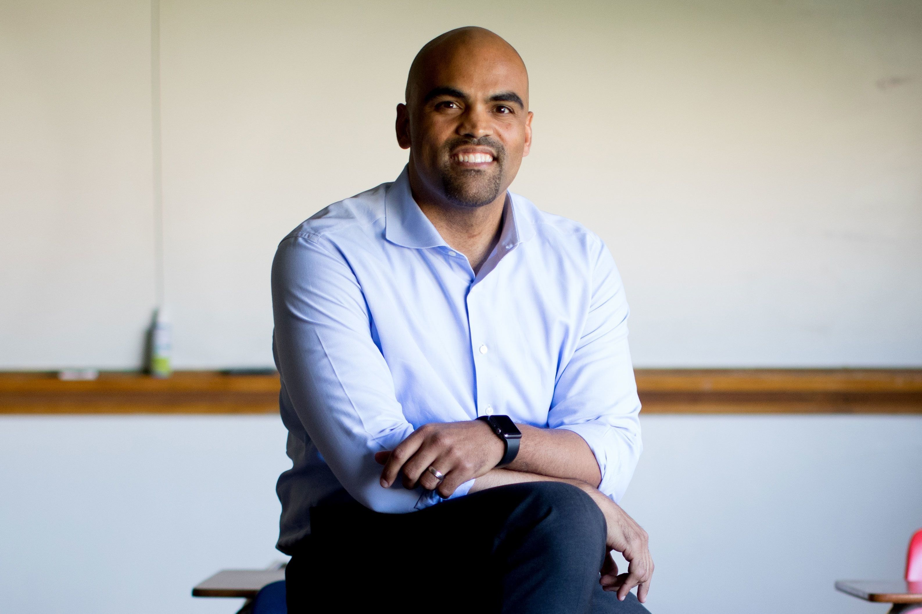 NBC News is projecting that Democrat and former NFL linebacker Colin Allred will unseat longtime Republican Rep. Pete Sessions in Texas' 32nd District.