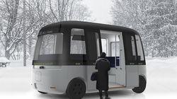 무인양품이 핀란드에서 자율주행버스를