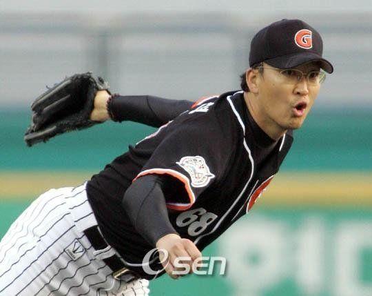 롯데 자이언츠 염종석의 2007년 선수 시절 모습